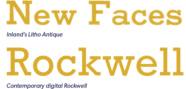 Litho Antique and Rockwell